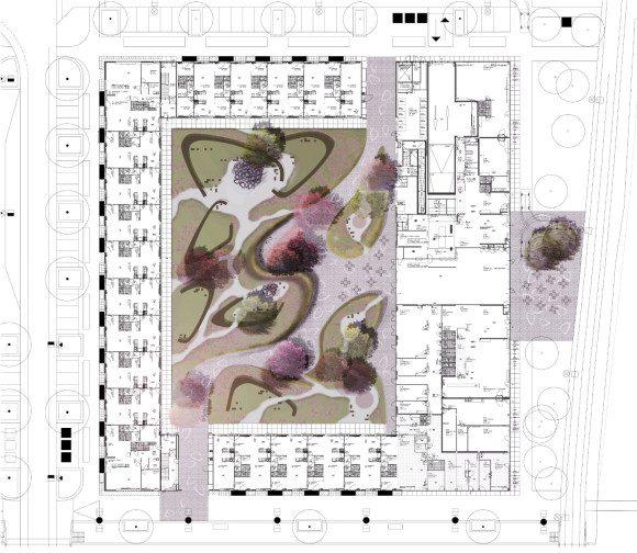 DELVA-Landscape-Architects-Heel-Europa-VMX-architecten-tuinarchitect-purmerend-zorg-zorgtuin-bloementuin-zorgcentrum-terras-nieuwbouw-weidevenne-2
