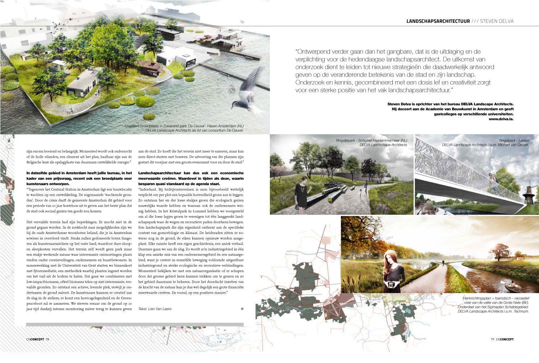 Interview met Belgische vakblad - Delva Landscape Architects