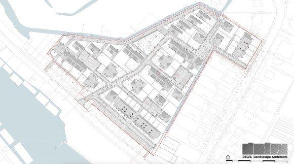 DELVA Landscape Architects Houben Hurks Kiekensterrein amsterdam noord antwerpen steven polder landsmeerderdijk kadoelenweg plankaart schaalbalk