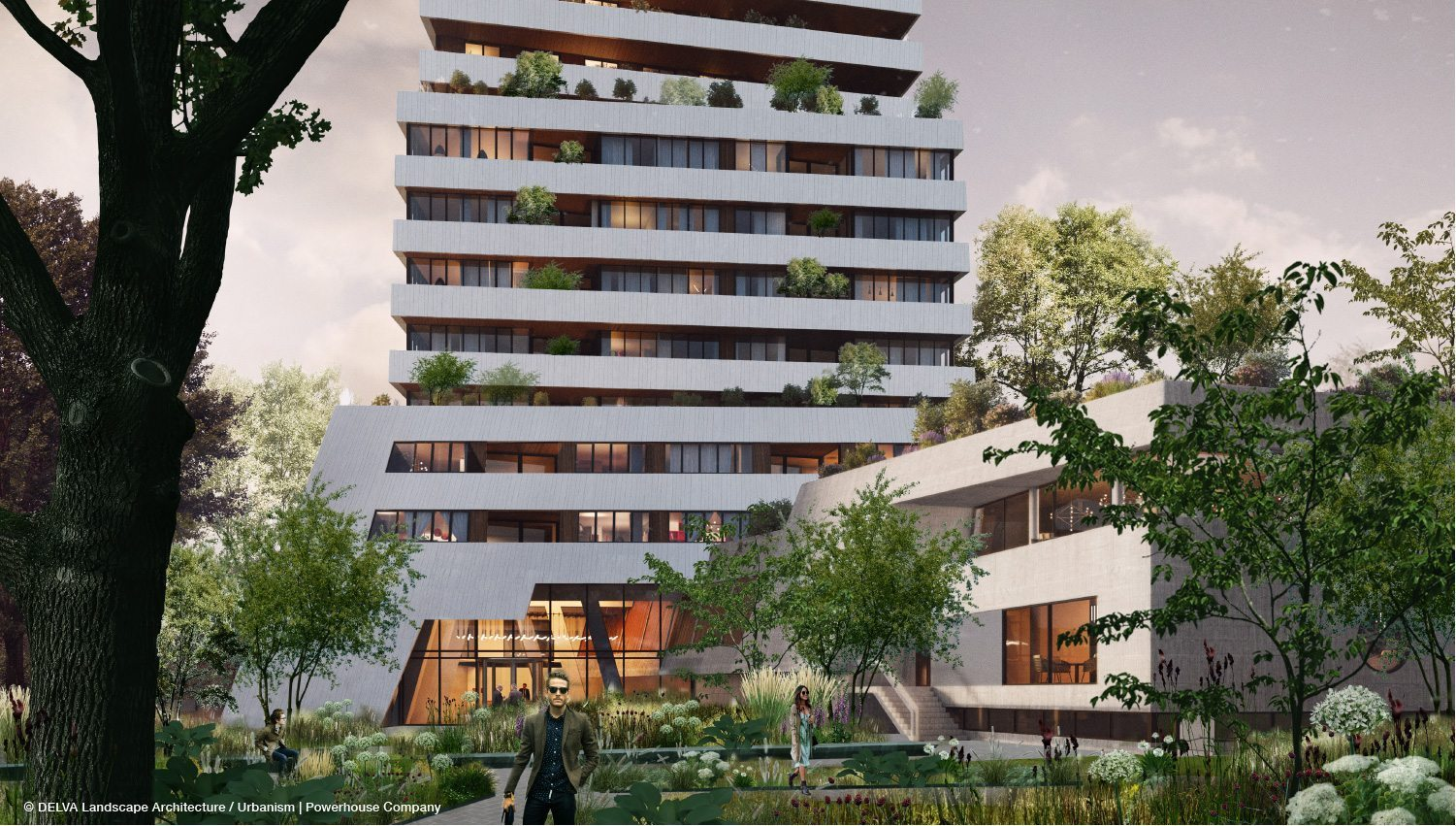 Team powerhouse delva presenteert 39 de bunkertoren for Red landscape architects