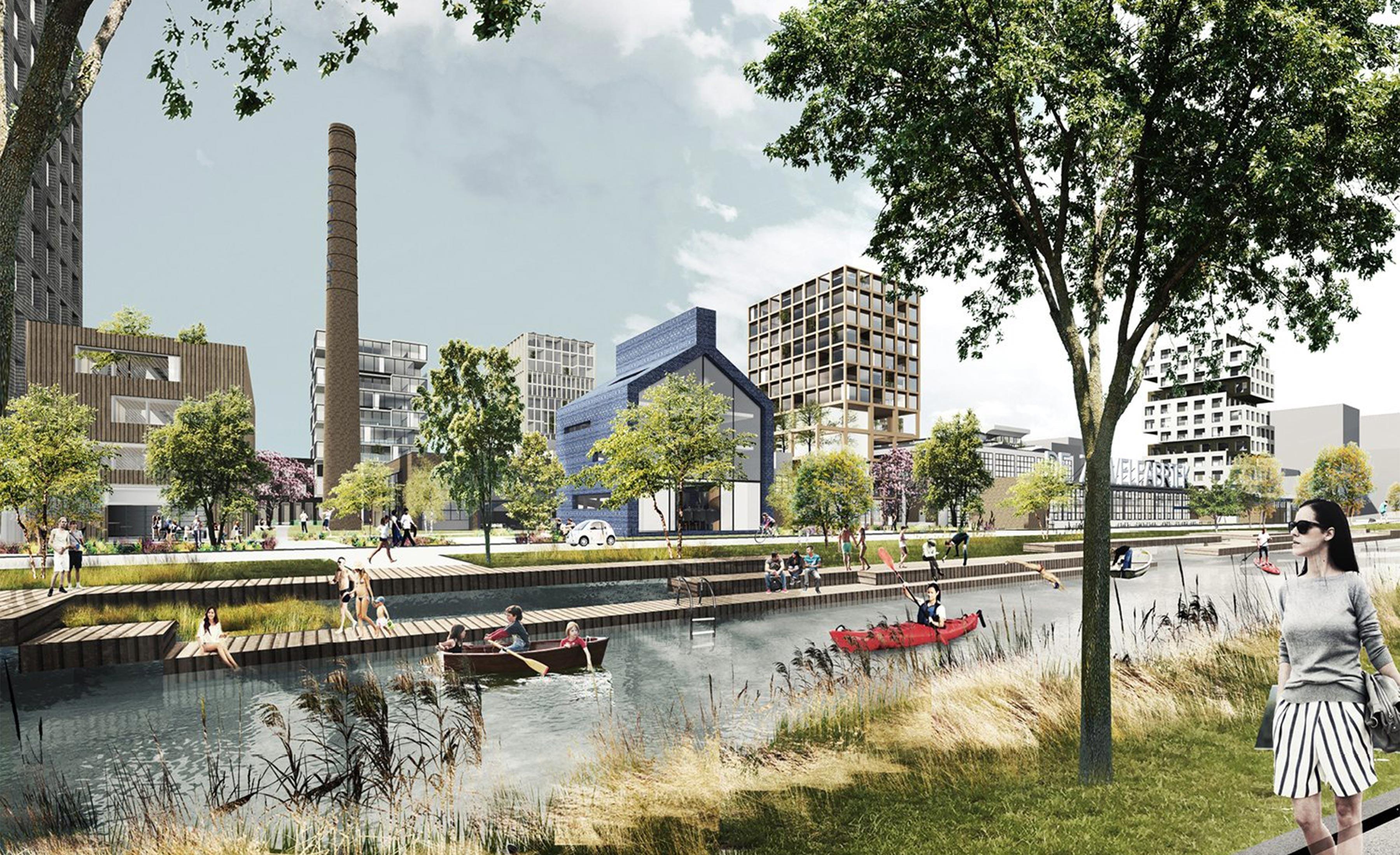 De Kade Eindhoven.Campina Delva Landscape Architecture Urbanism